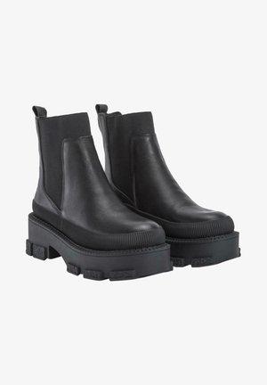 MENTA - Platform ankle boots - black