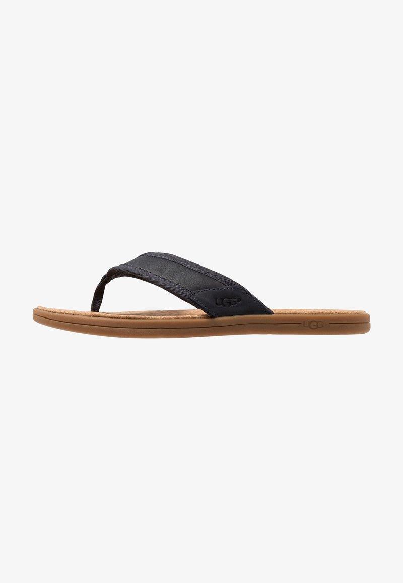 UGG - SEASIDE - T-bar sandals - navy