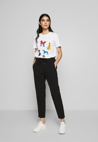 Bruuns Bazaar - RUBY PANT - Trousers - black - 1
