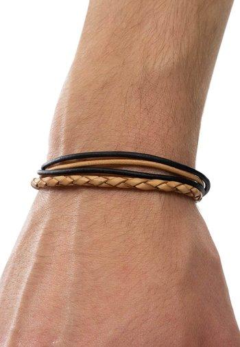 MARJA - Bracelet - schwarz/beige