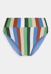 aerie - HI CUT CHEEKY - Bikini bottoms - blue lion - 0