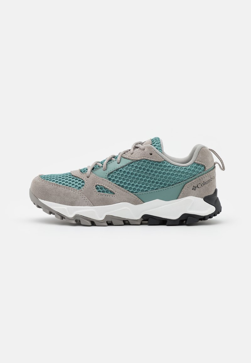 Columbia - IVO TRAIL BREEZE - Hiking shoes - dusty green/dove