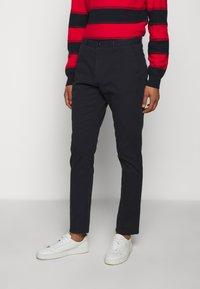 HUGO - GLEN - Chino kalhoty - dark blue - 0