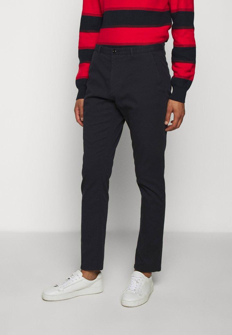 HUGO - GLEN - Chino kalhoty - dark blue
