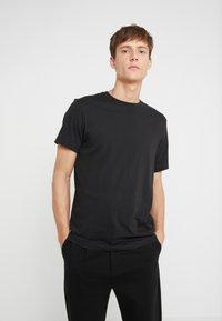 J.CREW - BROKEN IN CREW - Basic T-shirt - black - 0