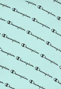 Champion - AMERICAN PASTELS CREWNECK UNISEX - Triko spotiskem - light blue - 2