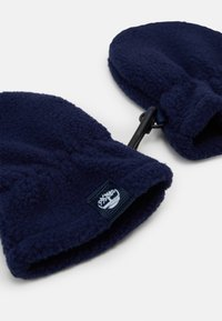 Timberland - PULL ON HAT SNOOD MITTENS BABY SET UNISEX - Čepice - navy - 2