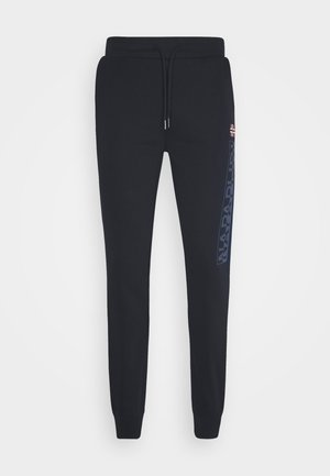 ICE - Tracksuit bottoms - blu marine
