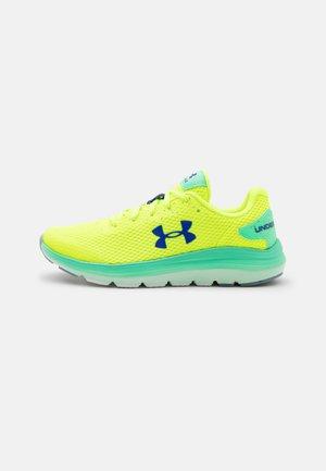 BGS SURGE 2 SPLASH UNISEX - Neutral running shoes - high/vis yellow