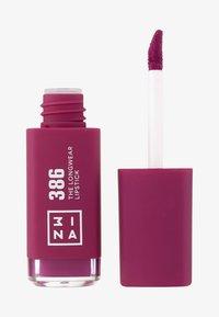 3ina - THE LONGWEAR LIPSTICK - Liquid lipstick - 386 - 0