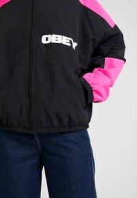 Obey Clothing - BRUGES JACKET - Training jacket - black - 5
