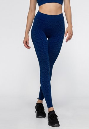 Collants - blue/black
