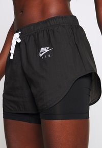 Nike Performance - 2IN1 SHORT - Sports shorts - black/white/reflective silver - 4