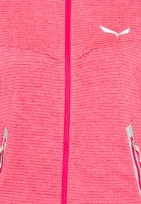 Salewa - PEDROC - Fleece jacket - virtual pink melange - 2