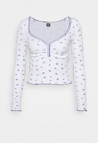 BDG Urban Outfitters - POINTELLE DITSY - Langarmshirt - white - 3