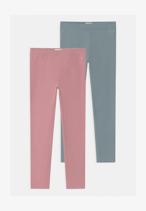 2 PACK - Leggings - Trousers - pink/blue