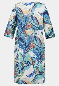 Ulla Popken - Day dress - lapis blue multi - 2
