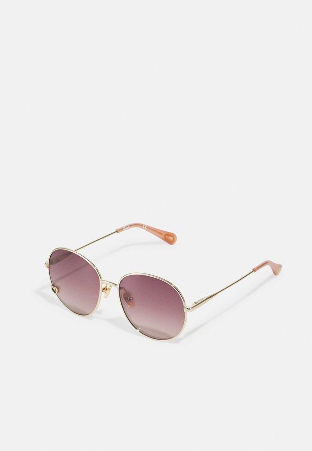 SUNGLASS KID UNISEX - Sluneční brýle - gold/brown