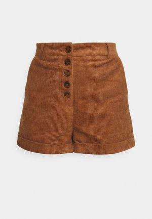 LADIES - Shorts - camel