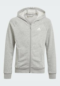 adidas Performance - BOLD HOODED TRACKSUIT - Tracksuit bottoms - grey - 1
