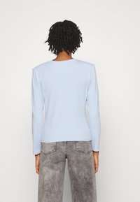 ONLY - ONLTANJA LIFE O NECK - Long sleeved top - cashmere blue - 2