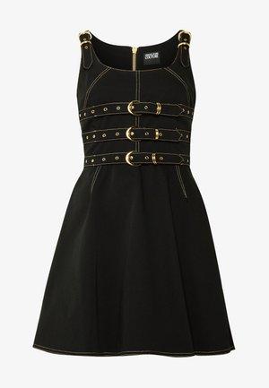LADY DRESS - Robe en jean - nero