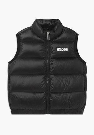 PADDED GILET - Waistcoat - black