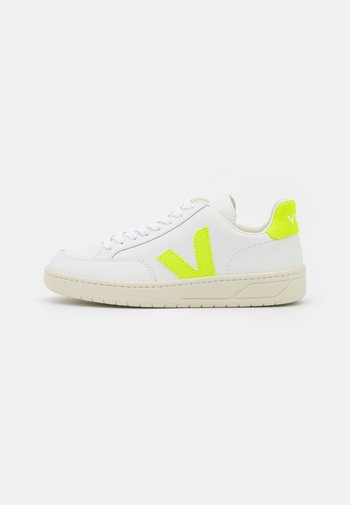 V-12 - Trainers - extra white/jaune/fluo