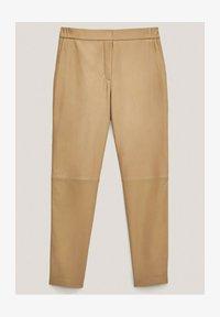Massimo Dutti - Tracksuit bottoms - beige - 0