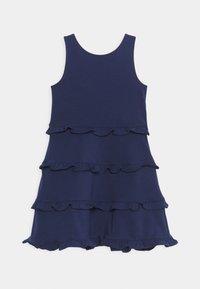 Polo Ralph Lauren - TIER DRESS - Žerzejové šaty - french navy - 0