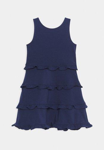 TIER DRESS - Vestito di maglina - french navy