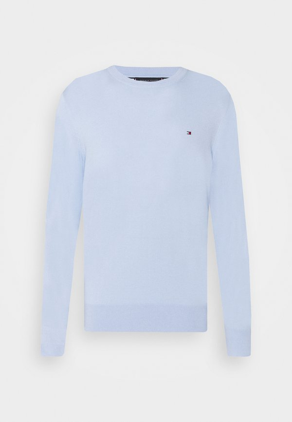 Tommy Hilfiger BLEND CREW NECK - Sweter - sweet blue/jasnoniebieski Odzież Męska PZUF
