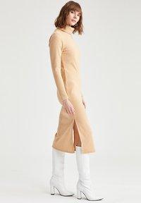 DeFacto - Jumper dress - beige - 1