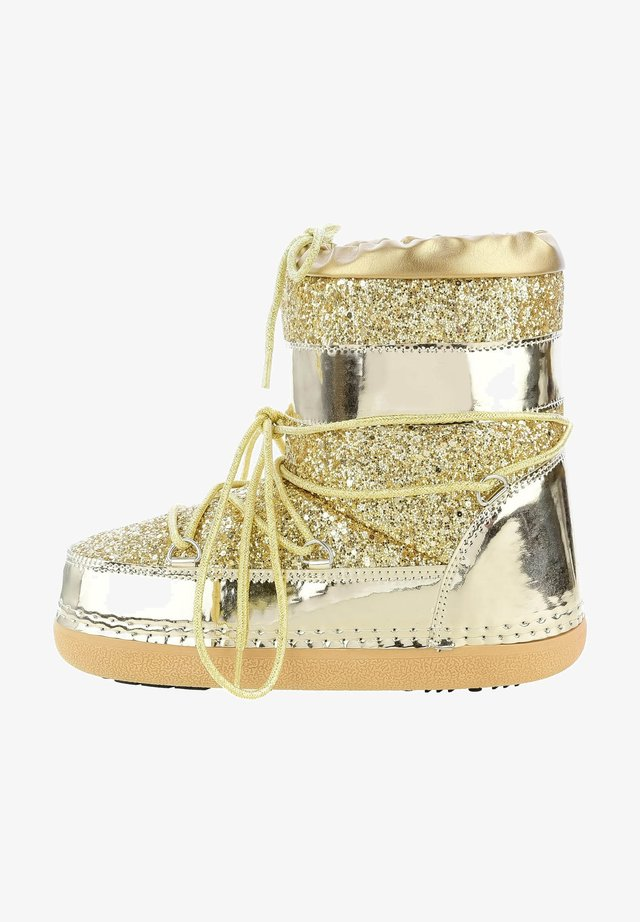 NASCIO - Lace-up boots - gold