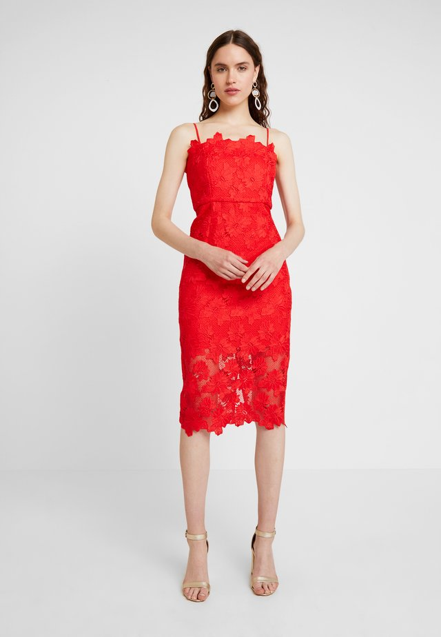 SUNSHINE DRESS - Cocktailkleid/festliches Kleid - fire red
