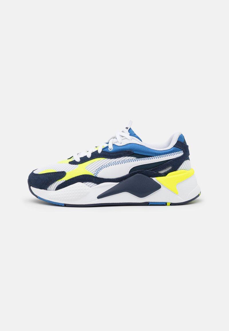 Puma - TWILL AIRMESH - Sneakers basse - white/peacoat