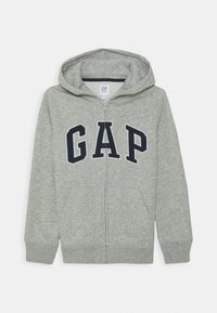 GAP - BOY NEW ARCH HOOD - Bluza rozpinana - light heather grey - 0