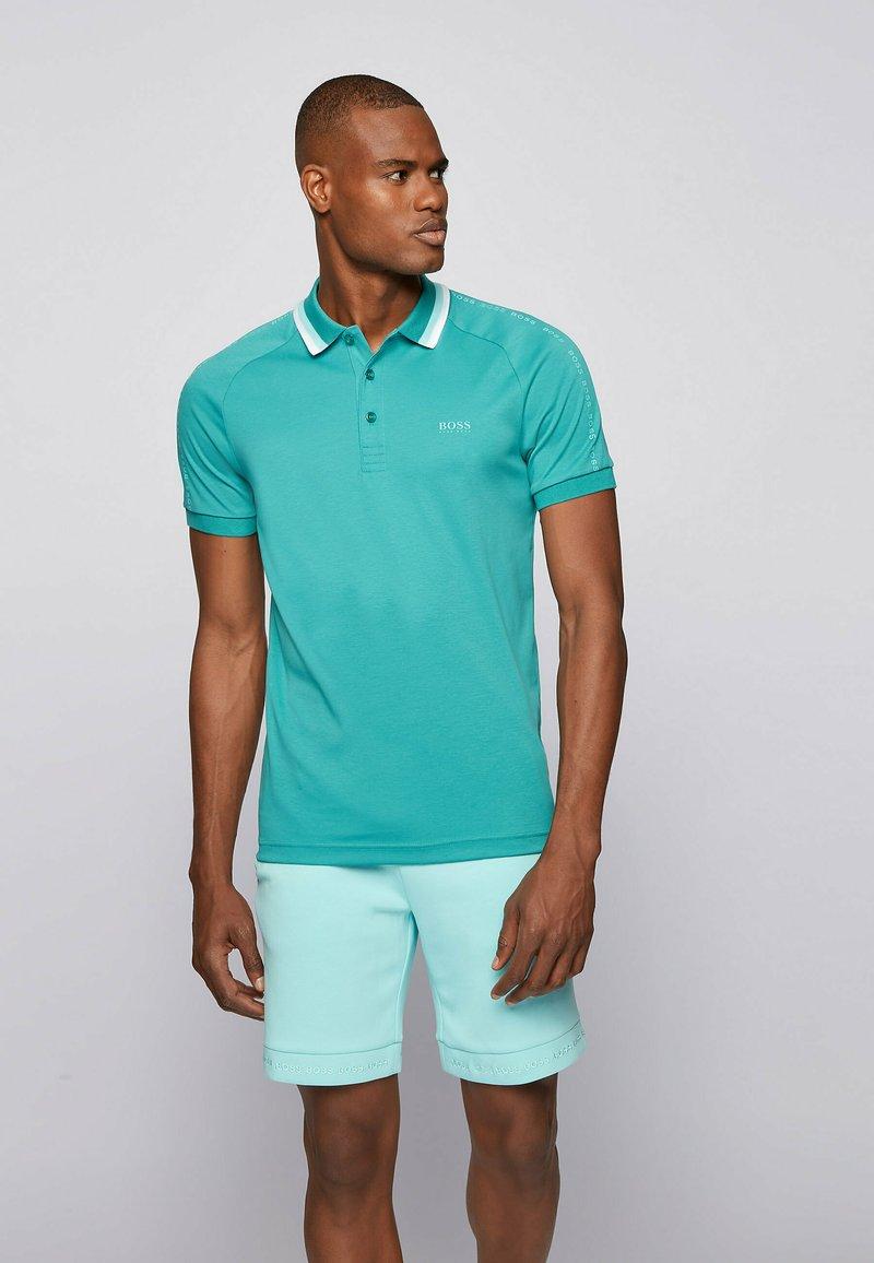 BOSS - PAULE  - Polo shirt - turquoise