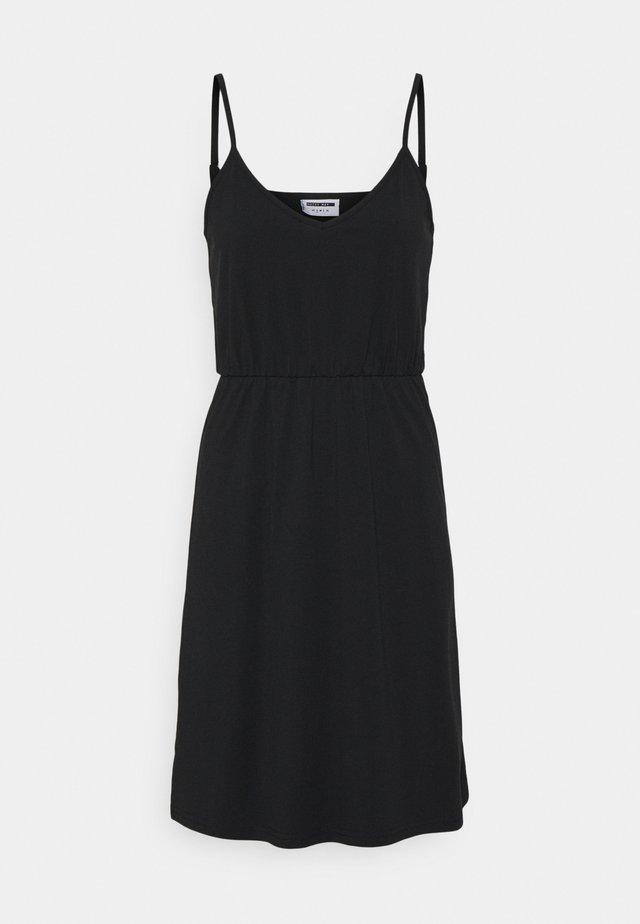 NMSUMI CAMI DRESS - Robe d'été - black