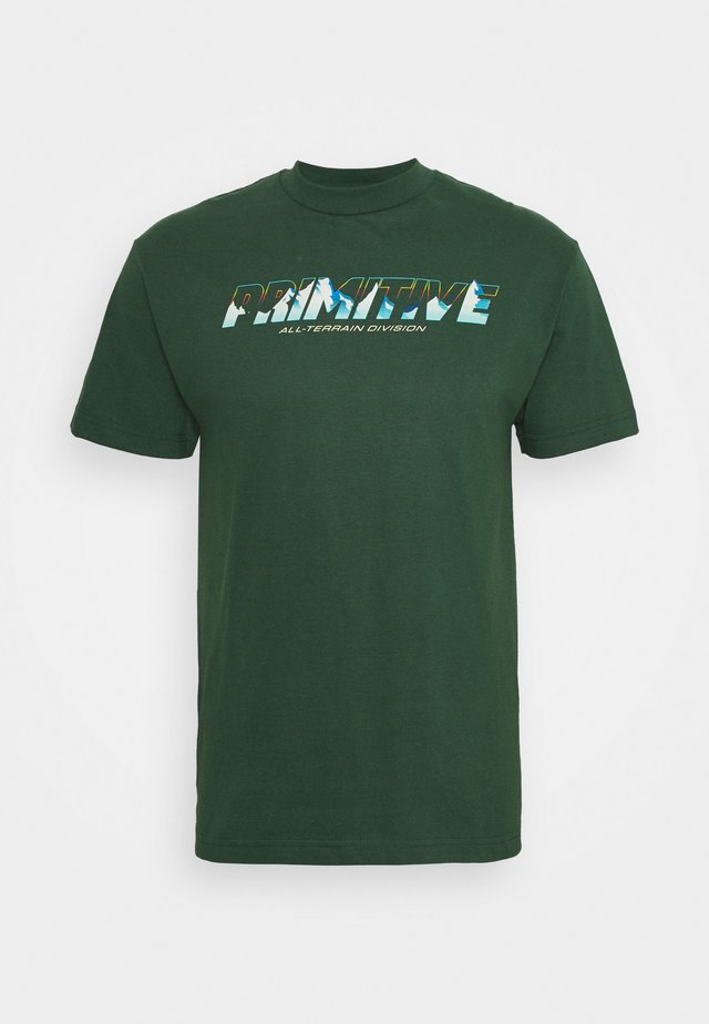 ALL TERRAIN TEE - Print T-shirt - forest