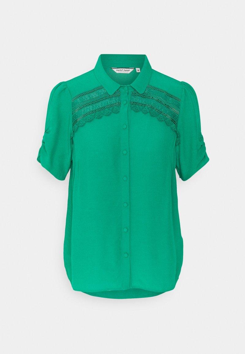 NAF NAF - HAMA - Button-down blouse - vert agathe