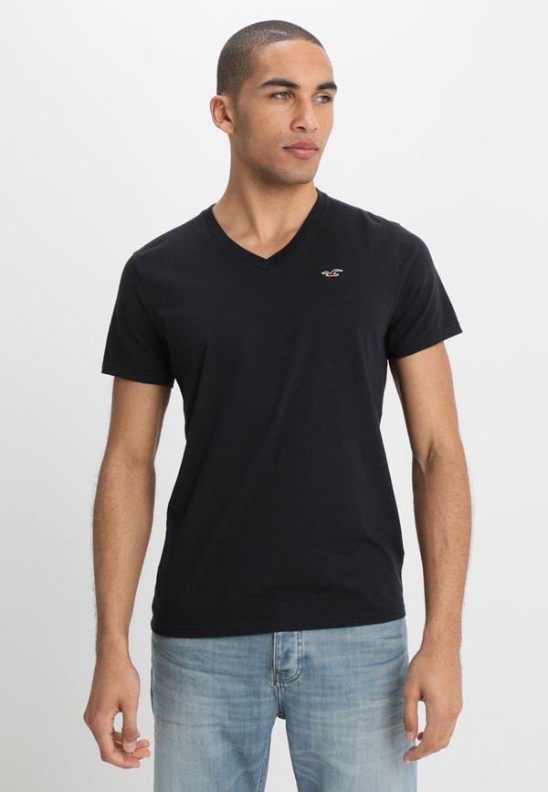 Hollister Co. 3 PACK - T-shirt basic - white/czarny Odzież Męska FFWY
