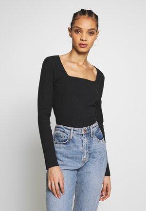 NMMONICA  - Long sleeved top - black
