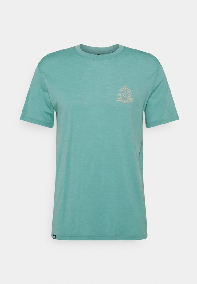 ICON  - T-shirt med print - sage