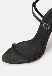 Iro - GIZIA - Sandalen met hoge hak - dark grey - 9