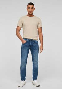 Q/S designed by - Straight leg jeans - blue - 1
