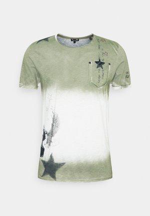 NASHVILLE ROUND - Camiseta estampada - dark green