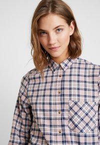 New Look - PAMMY CHECK - Blouse - pink - 5