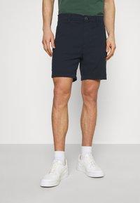 Selected Homme - SLHSTORM FLEX - Shorts - dark sapphire/mix black - 0