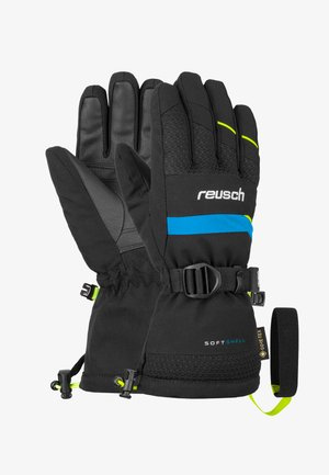 Gloves - black/safety yellow